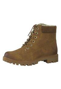 Tamaris - Šněrovací kotníkové boty - brown - 2