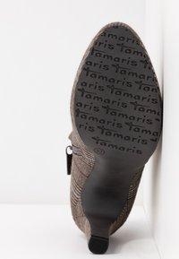 Tamaris - Botines de tacón - grey - 6