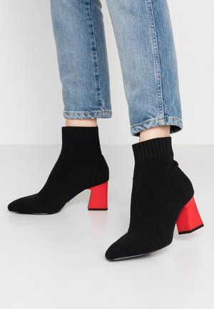 Bottines - black/lipstick