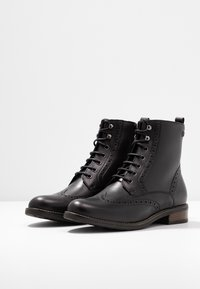 Tamaris - Bottines à lacets - black - 4