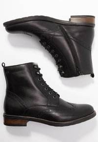 Tamaris - Bottines à lacets - black - 3