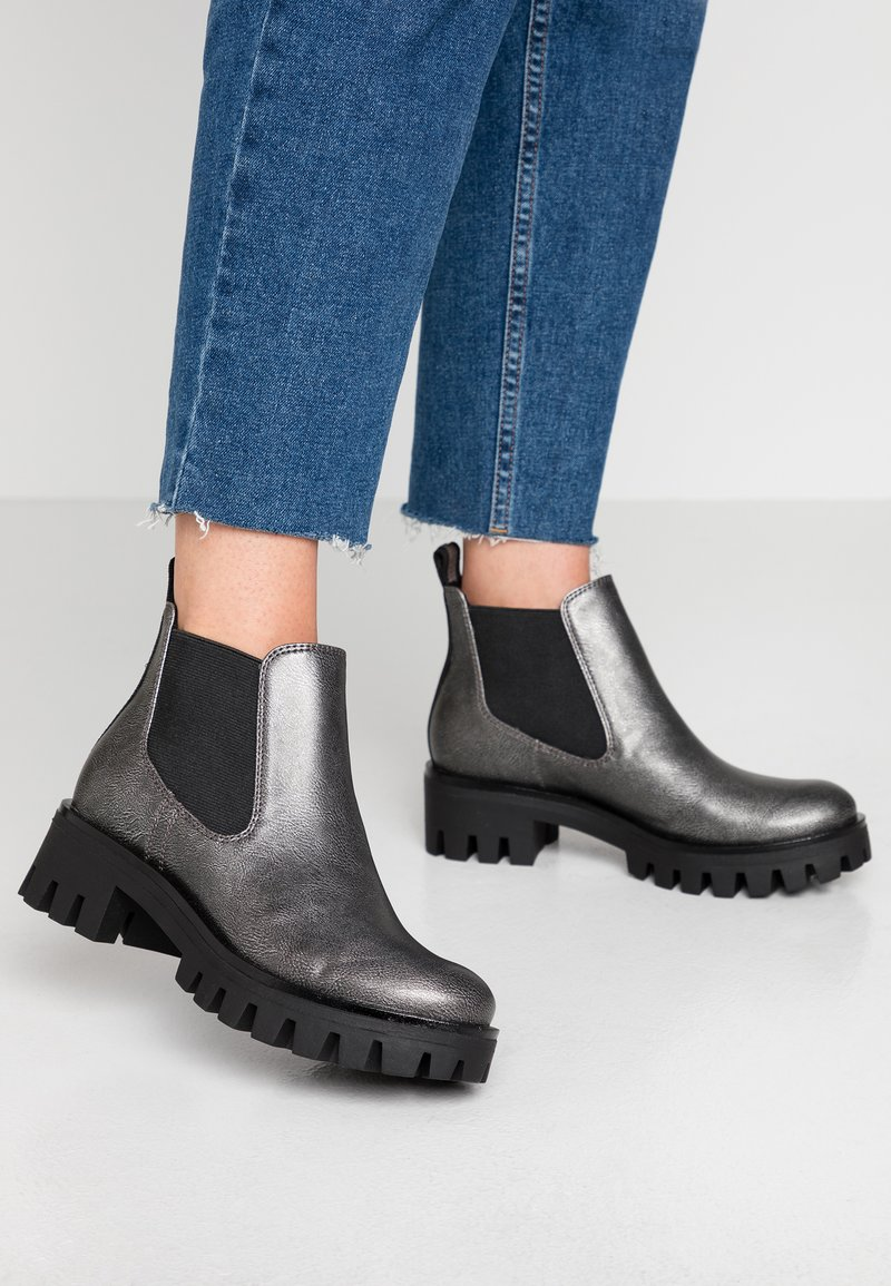 Tamaris - Ankle boots - pewter