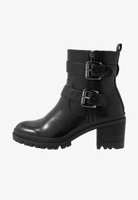 Tamaris - Cowboy/biker ankle boot - black - 1
