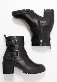 Tamaris - Cowboy/biker ankle boot - black - 3
