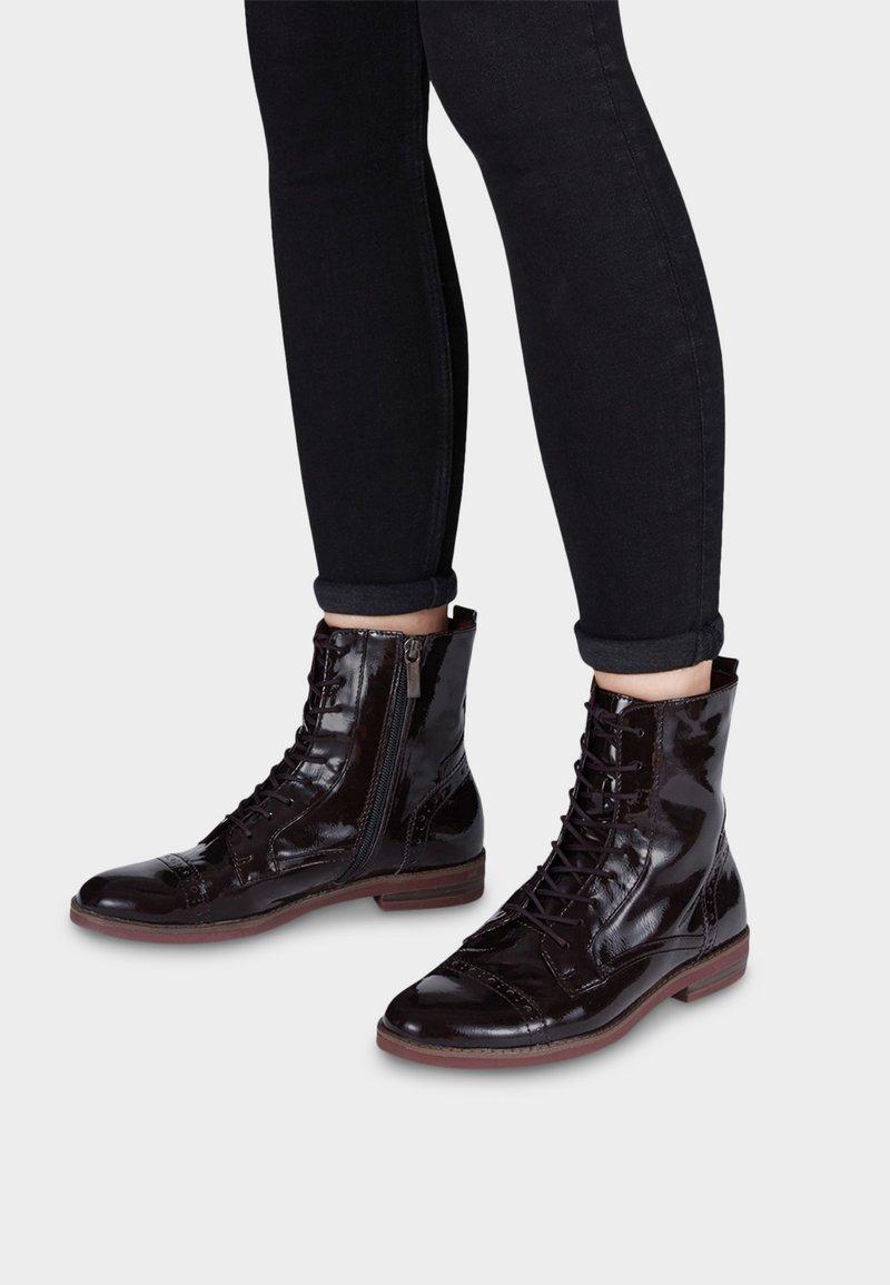 Tamaris - WOMS BOOTS - Veterboots - mottled black