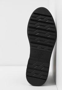 Tamaris - Kotníkové boty na platformě - black - 6