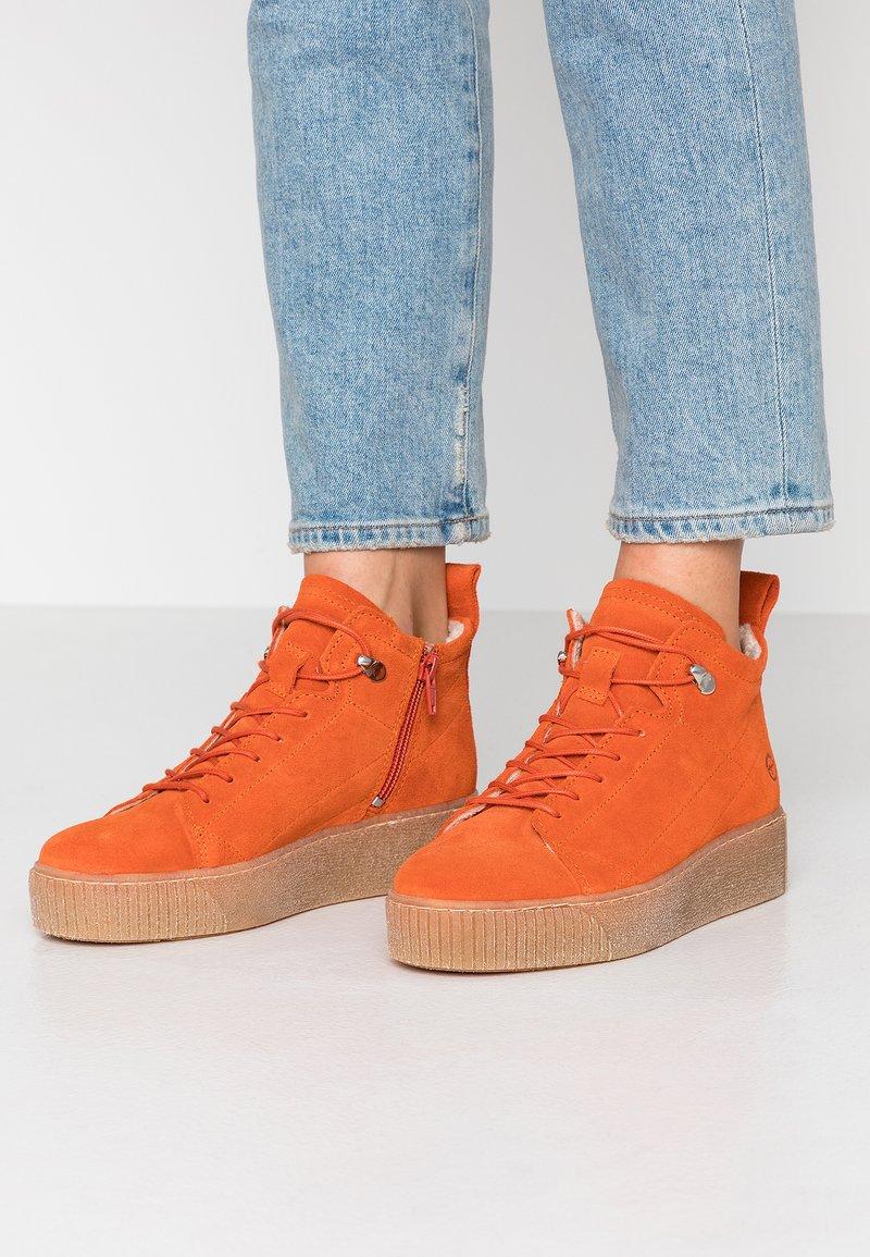 Tamaris - Kotníková obuv - orange