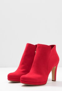 Tamaris - High heeled ankle boots - fire - 4