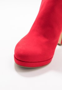 Tamaris - High heeled ankle boots - fire - 2