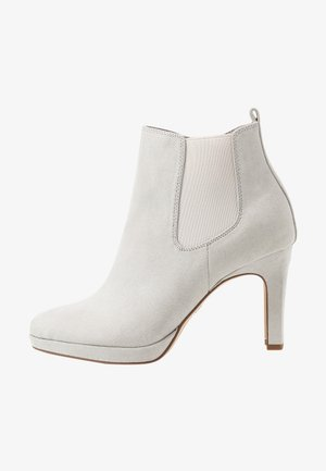 DA.-STIEFEL - High heeled ankle boots - grey