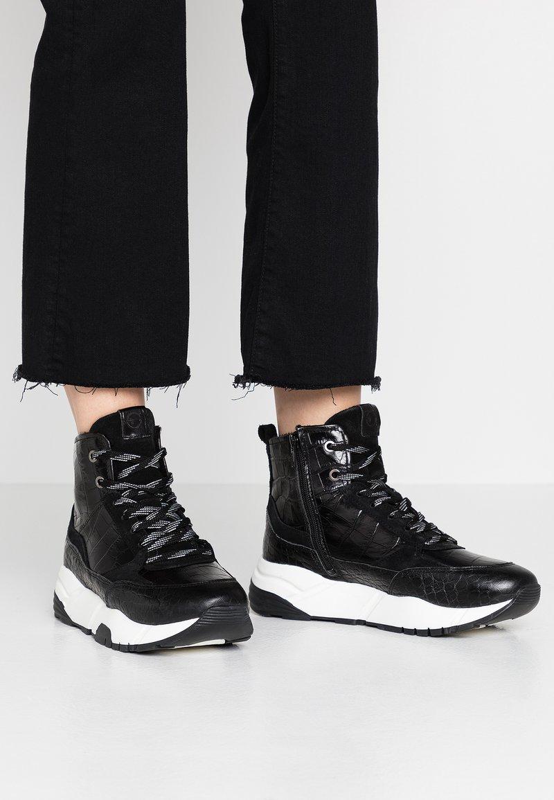 Tamaris - Sneakers high - black