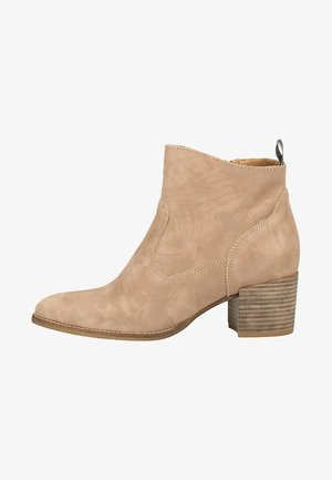 TAMARIS STIEFELETTE - Classic ankle boots - taupe