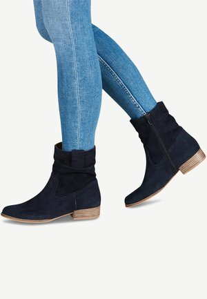STIEFELETTE - Classic ankle boots - navy