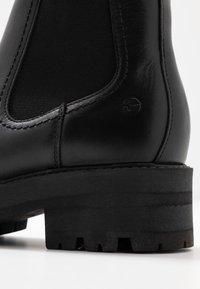 Tamaris - BOOTS - Platåstøvletter - black - 2