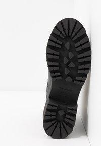 Tamaris - BOOTS - Platåstøvletter - black - 6