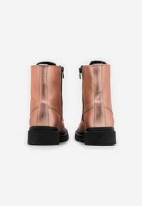 Tamaris - BOOTS - Platform ankle boots - rose metallic - 3