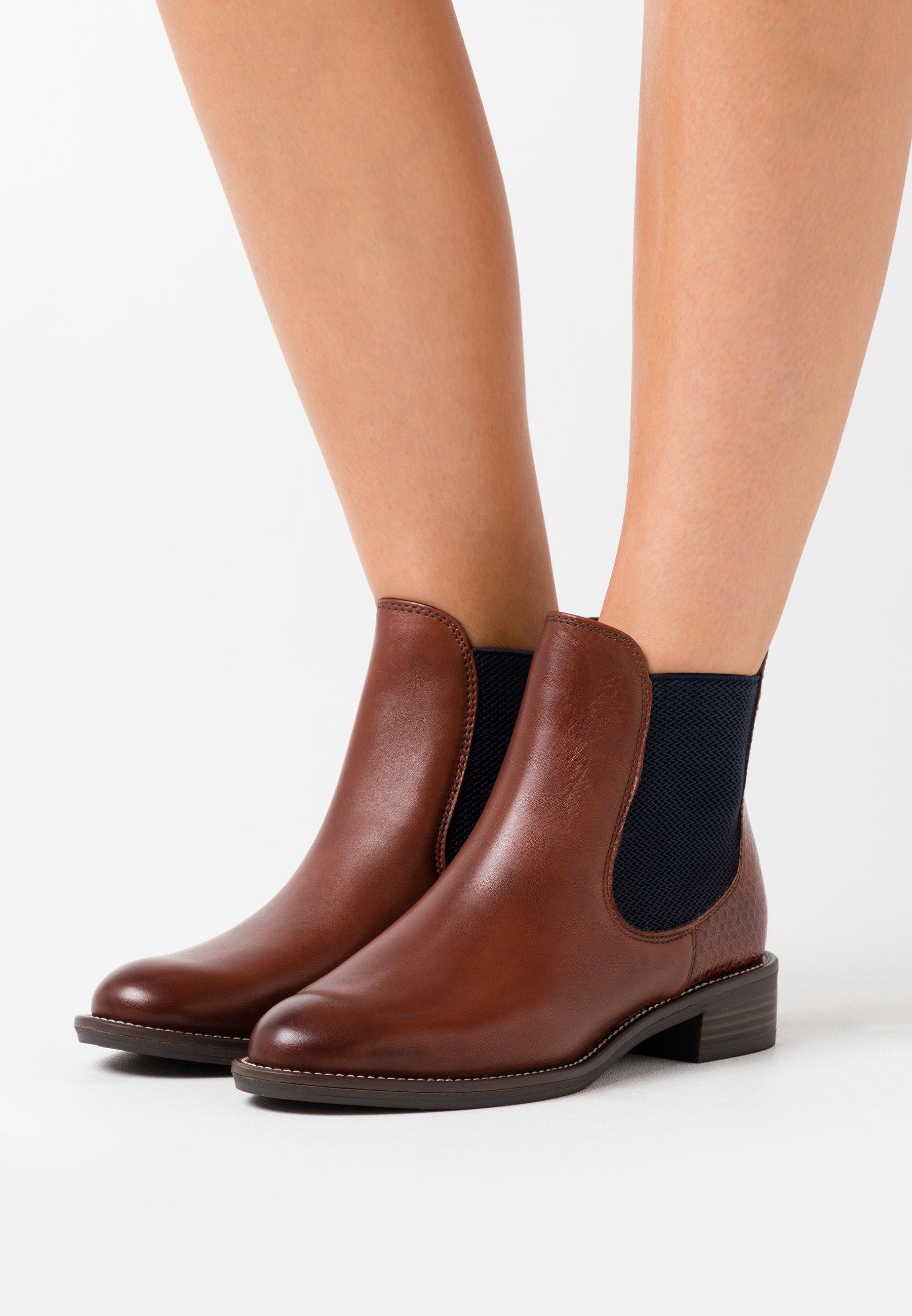 Tamaris Stiefelette - brandy | Damen Schuhe 2020