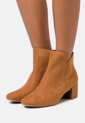 Classic ankle boots - nut