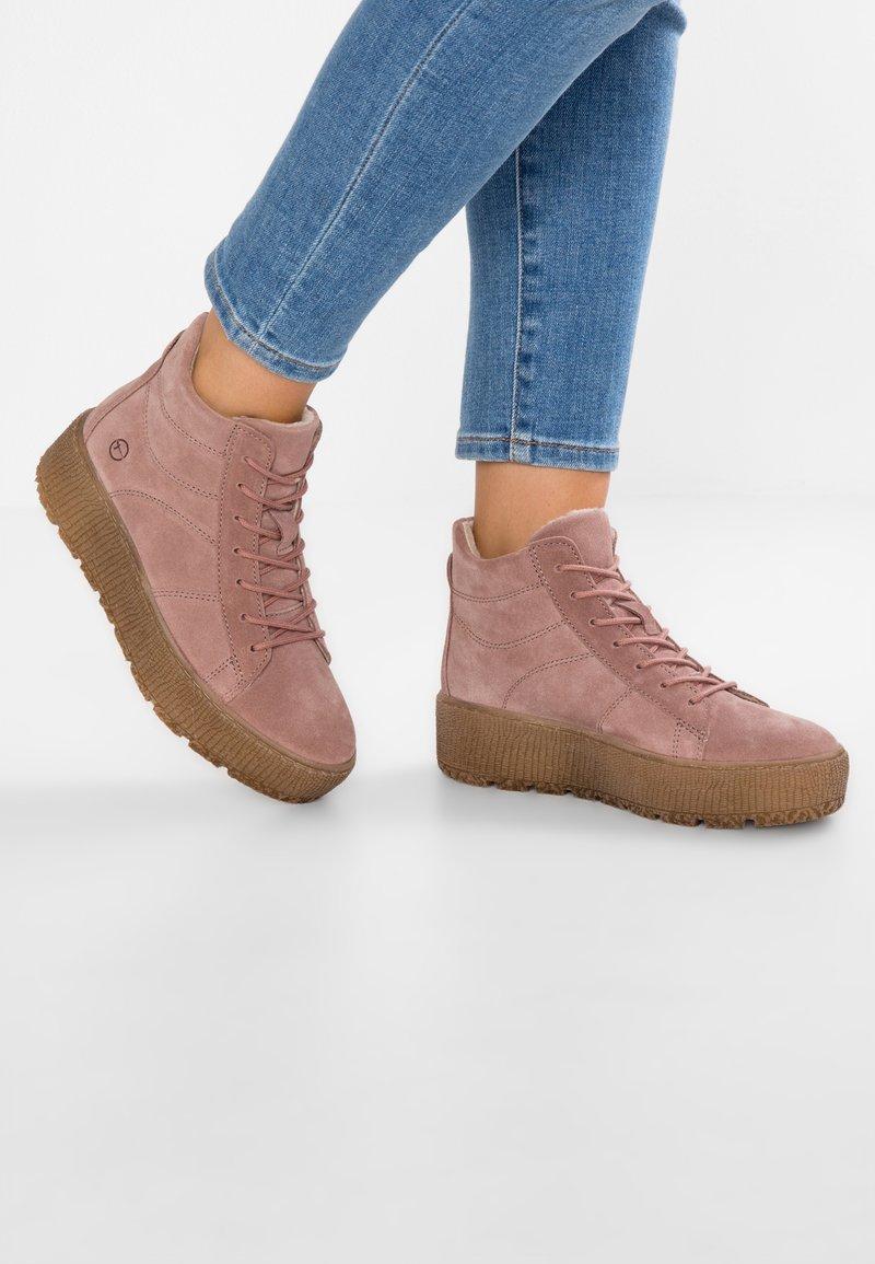 Tamaris - Ankle boots - powder