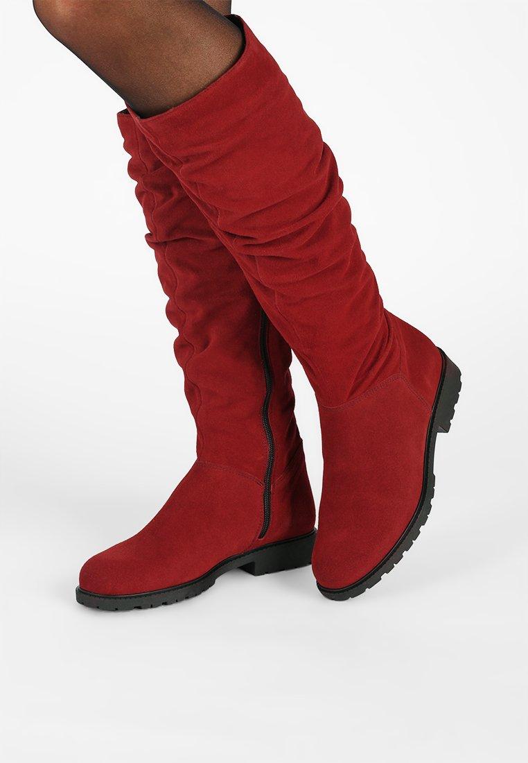 Tamaris - Boots - sangria