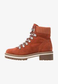 Tamaris - Šněrovací kotníkové boty - rust - 1