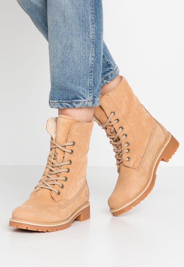 Boots - Nauhalliset nilkkurit - desert