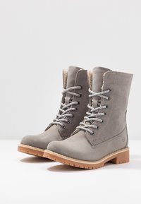 Tamaris - Boots - Bottines à lacets - light grey - 3