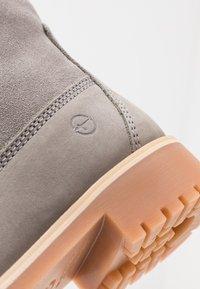 Tamaris - Boots - Bottines à lacets - light grey - 2
