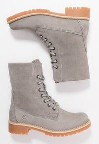 Tamaris - Boots - Bottines à lacets - light grey - 4