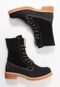 Tamaris - Boots - Snørestøvletter - black - 3