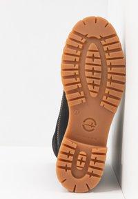 Tamaris - Boots - Snørestøvletter - black - 6