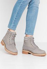 Tamaris - Šněrovací kotníkové boty - light grey - 0