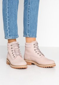 Tamaris - Lace-up ankle boots - light pink - 0
