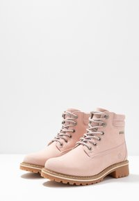 Tamaris - Lace-up ankle boots - light pink - 4