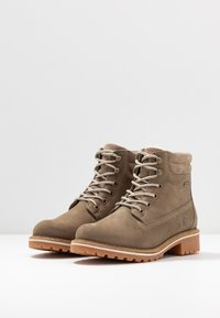 Tamaris - Lace-up ankle boots - taupe - 4