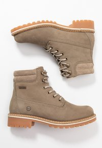 Tamaris - Lace-up ankle boots - taupe - 3