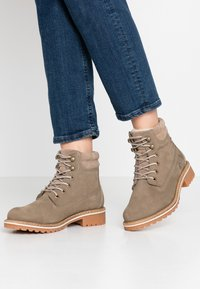 Tamaris - Lace-up ankle boots - taupe - 0