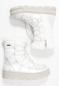 Tamaris - Vinterstøvler - white - 3