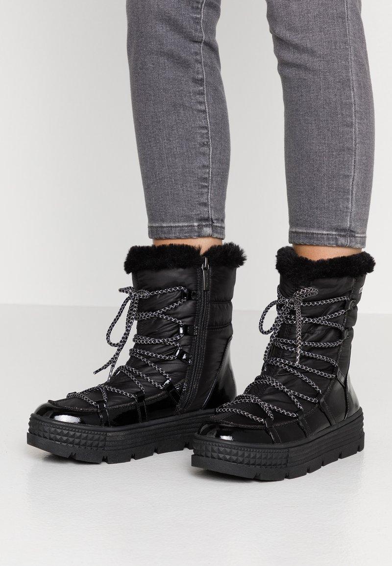 Tamaris - Zimní obuv - black
