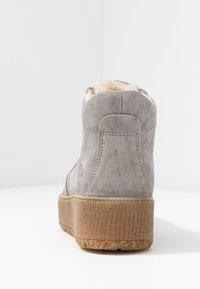 Tamaris - Platform ankle boots - light grey - 5