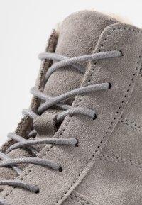 Tamaris - Platform ankle boots - light grey - 2