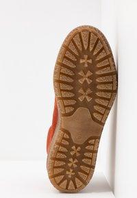 Tamaris - Kotníkové boty na platformě - rust - 6