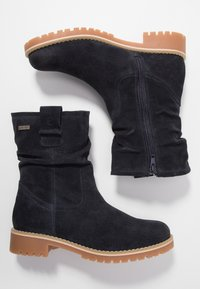 Tamaris - Classic ankle boots - navy - 3