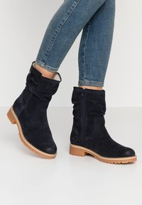 Tamaris - Classic ankle boots - navy - 0
