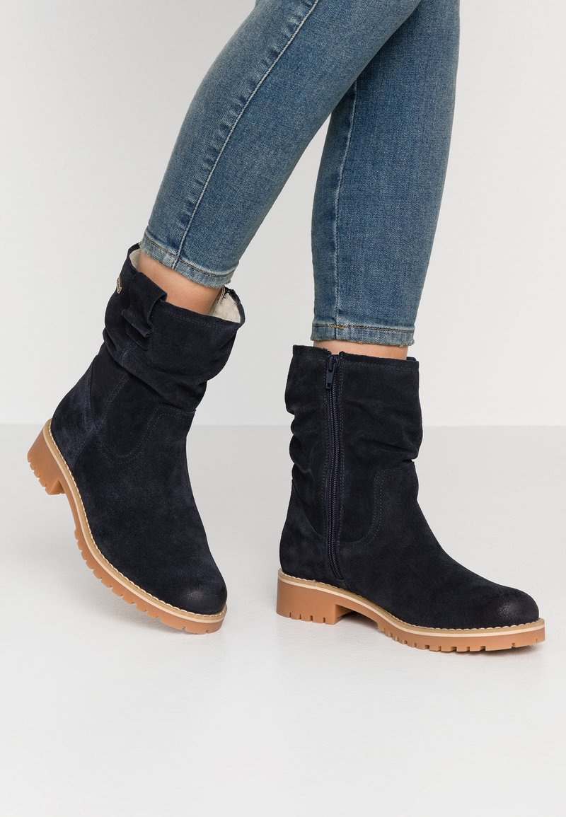 Tamaris - Classic ankle boots - navy