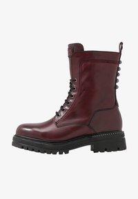 Tamaris - Platform ankle boots - bordeaux - 1