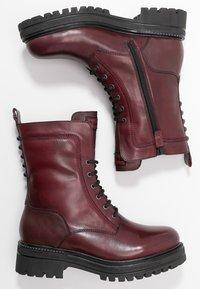 Tamaris - Platform ankle boots - bordeaux - 3
