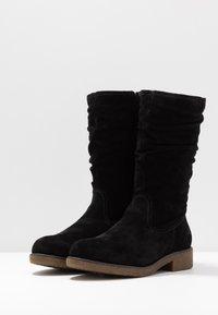 Tamaris - Høje støvler/ Støvler - black - 4