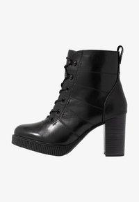Tamaris - Kotníková obuv na vysokém podpatku - black - 1