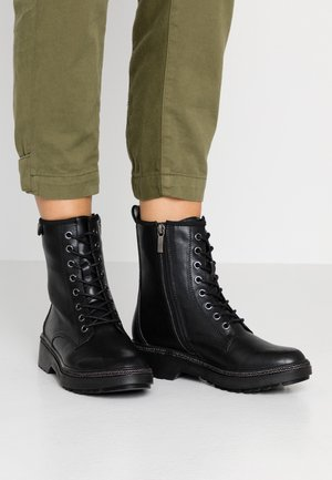 Veterboots - black matt